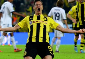 ligue des champions dortmund real madrdi RobertLewandowski