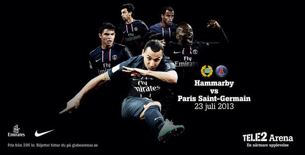 Hammarby 0-2 Paris Saint-Germain : Le PSG s