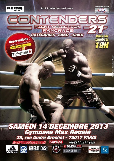 Billets MMAMMA / Pancrace / Grappling Art Martiaux