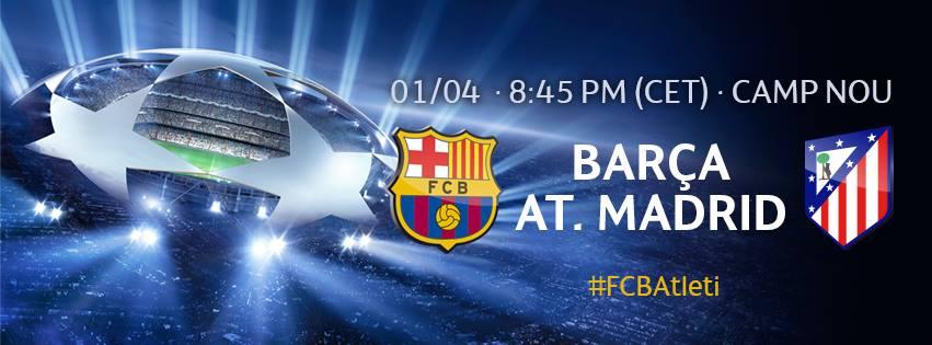 FC Barcelone Atletico Madrid 2014