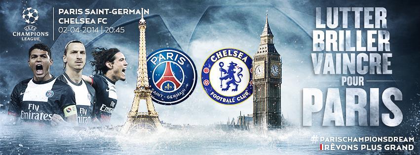 PSG Chelsea au parc