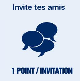 Invite des amis à s'inscrire sur Places Pour Tous et gagne des points pour obtenir encore plus de réduction !