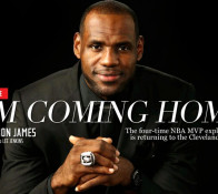 "Lebron James ""I'm coming Home"""