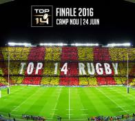 Visuel pour la finale de Top 14 2015-2016 au Camp Nou de Barcelone
