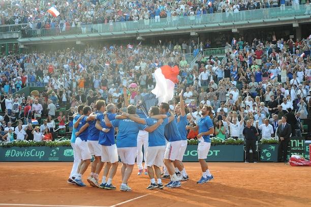 Jo-Wilfriend Tsonga, Gael Monfils, Richard Gasquet et Gilles Simon affronteront l'équipe Suisse ce week-end pour la finale de Coupe Davis.