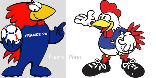 Driblou goalix super victor la mascotte de l 39 euro 2016 places pour tous - France 98 coupe du monde ...