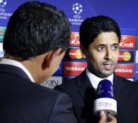 Nasser Al-Khelaïfi veut que son équipe rapporte les trois points de Barcelone. Ligue des Champions, PSG-Ajax.