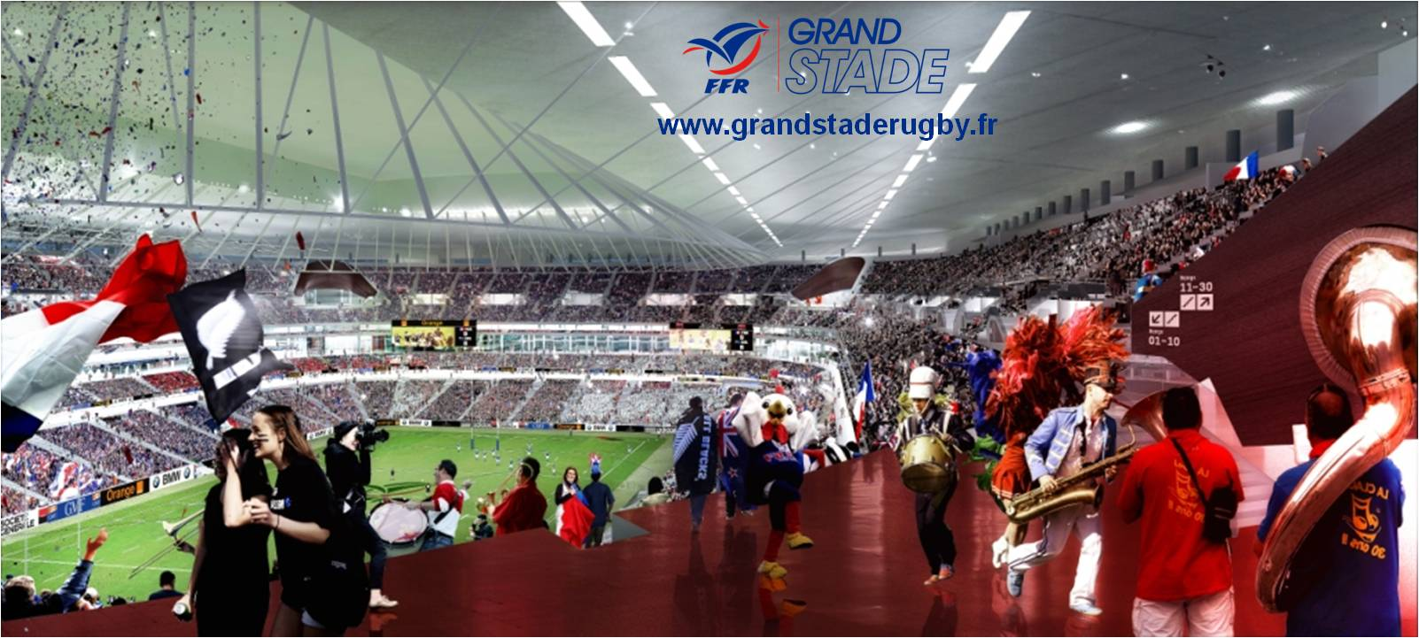 Grande Stade de la Fédération Français de Rugby (FFR)