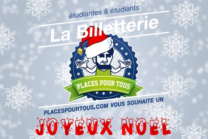 Joyeux Noël Places Pour Tous