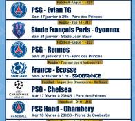 PSG CHELSEA, FRANCE - ECOSSE, PSG - Bordeaux,