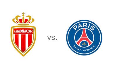 Confrontation de ce week-end : AS Monaco affronte le PSG en Ligue 1, puis l'affrontera de nouveau mercredi 4 mars !