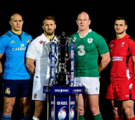 six nations 2015 LES CAPITAINES OUAAAAA