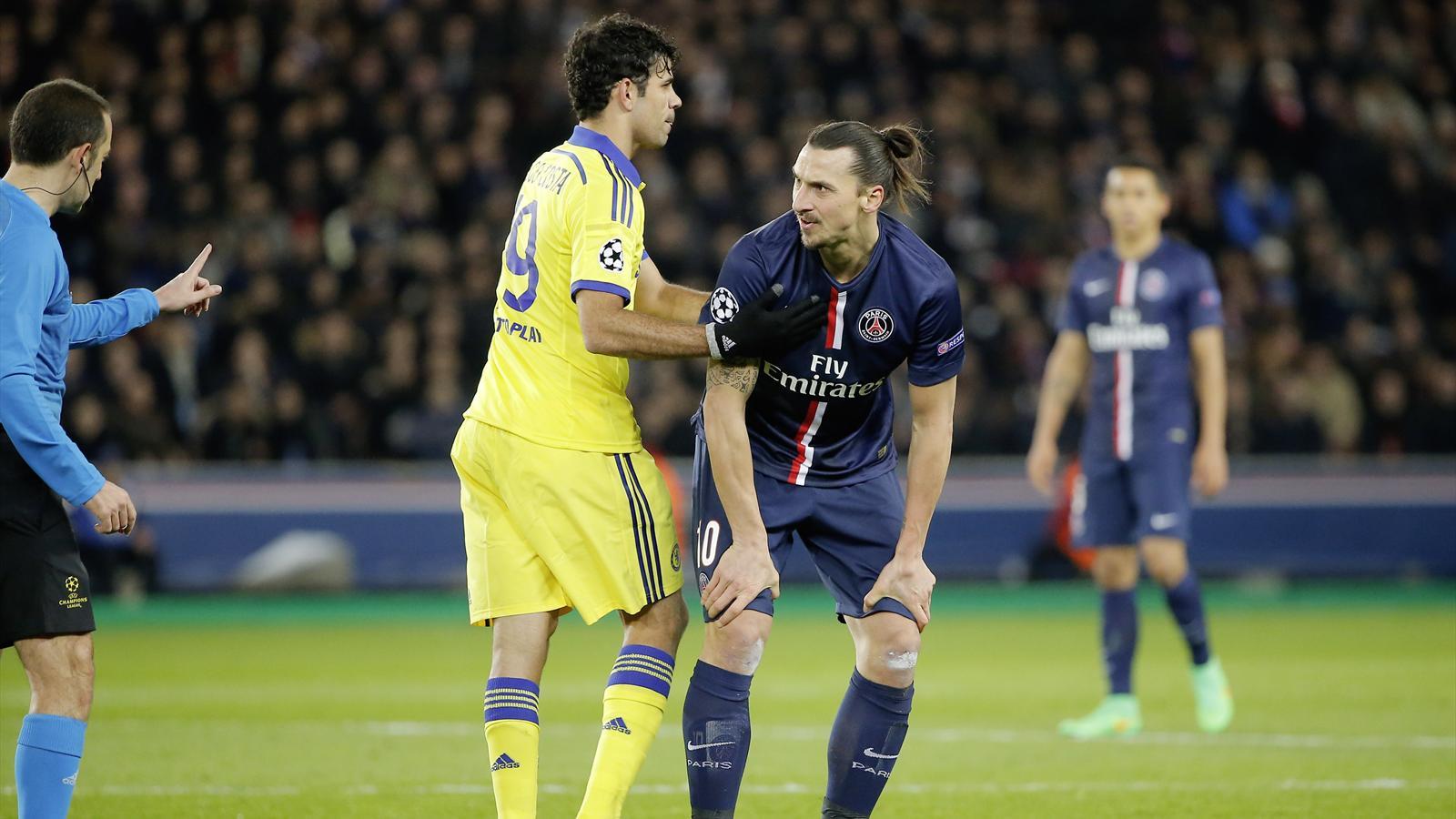 Zlatan Ibrahimovic face à Chelsea en Ligue des Champions et des caméléons.