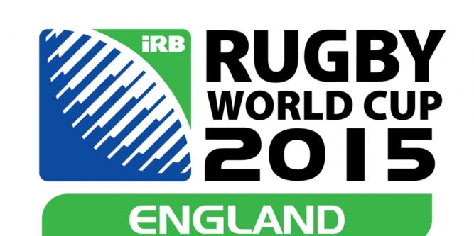 Logo de la Coupe du Monde de Rugby 2015 en Angleterre