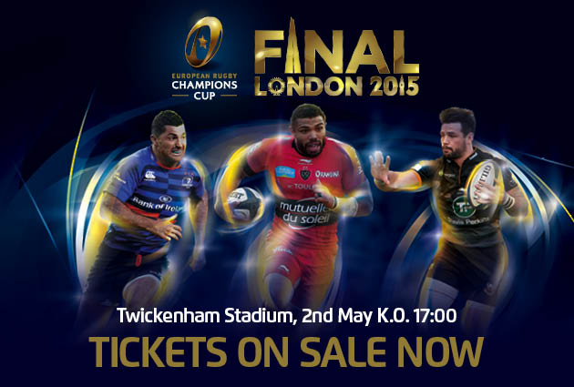 EPCR champions cup finale twickenham 2015