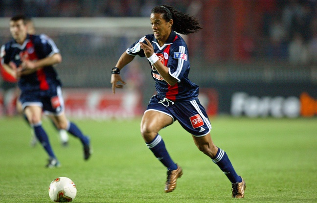 Lorsque Ronaldinho était au PSG