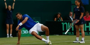 Tsonga à terre contre Murray