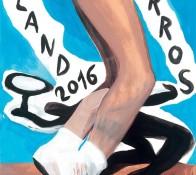 Affiche Roland Garros 2016
